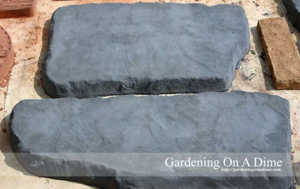 DIY Concrete Flagstone Pavers