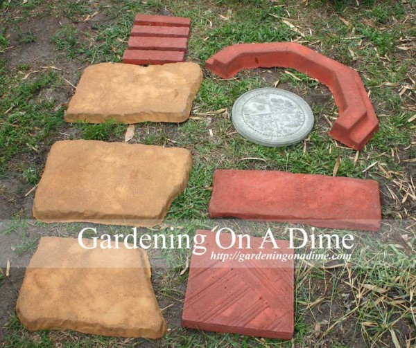 DIY Concrete Paver Collection