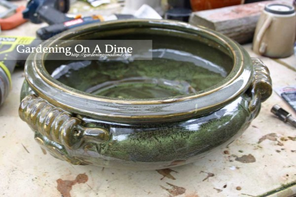 How To Drill Drainage Holes In Ceramic Pots Planters And