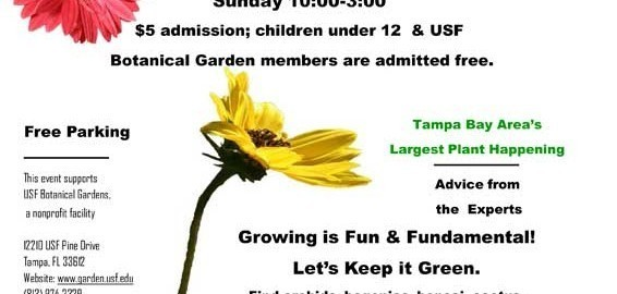 2012 USF Botanical Gardens Spring Festival 1