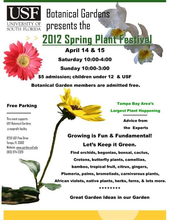 2012 USF Botanical Gardens Spring Festival 3